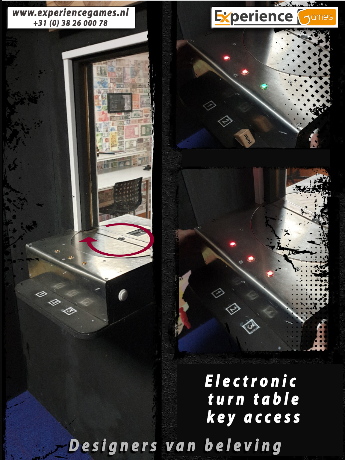electronic turn table
